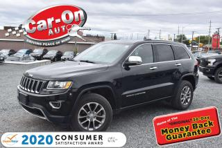 Used 2016 Jeep Grand Cherokee Limited 4X4 | NEW ARRIVAL | 18 ALLOYS | LEATHER for sale in Ottawa, ON