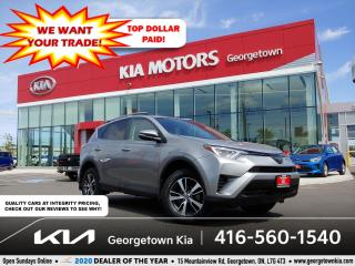 Used 2018 Toyota RAV4 LE | BU CAM | HTD SEATS | B/T | 74 K | LANE DEP for sale in Georgetown, ON