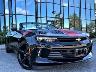Used 2018 Chevrolet Camaro 1LT|ALLOYS|CONVERTIBLE|CRUISE|BLUETOOTH|BOSE SOUND| for sale in Brampton, ON