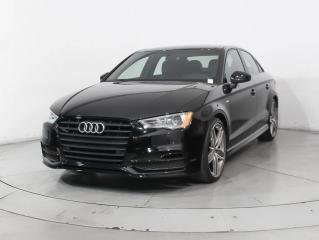 Used 2016 Audi A3 quattro 2.0T Komfort Panoramic, Leather, Clean for sale in Concord, ON