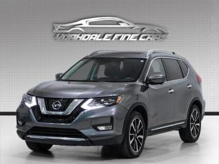 Used 2017 Nissan Rogue AWD SL Navigation, Camera, Panoramic Roof, Leather for sale in Concord, ON