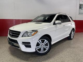 Used 2014 Mercedes-Benz ML-Class 4MATIC ML350 BLUETEC 360 CAMERA BLINDSPOT PANOROOF for sale in North York, ON