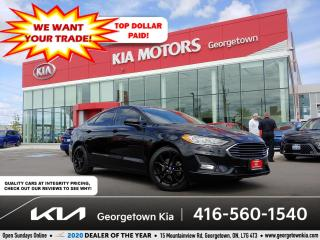 Used 2019 Ford Fusion SE | CLN CRFX | SUNROOF | NAV | 57K | BLACK WHEELS for sale in Georgetown, ON
