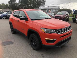 Used 2018 Jeep Compass Sport 4WD for sale in Truro, NS