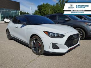 Used 2019 Hyundai Veloster Turbo Tech Two-Tone Auto  - $144 B/W for sale in Brantford, ON