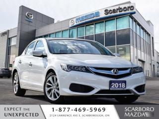 Used 2018 Acura ILX BLIND SPOT MONITOR 1 OWNER CLEAN CARFAX LOW LOW KM for sale in Scarborough, ON