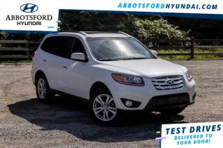 Used 2011 Hyundai Santa Fe Limited  - Sunroof -  Leather Seats for sale in Abbotsford, BC