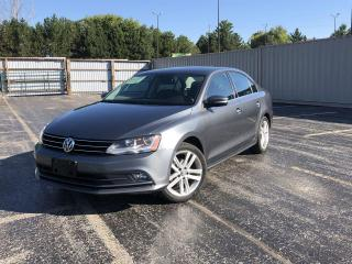 Used 2017 Volkswagen Jetta HIGHLINE for sale in Cayuga, ON