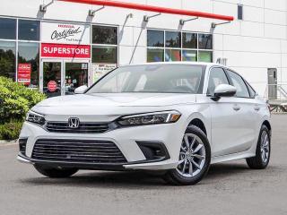 New 2022 Honda Civic Sedan EX for sale in Port Moody, BC