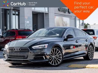 Used 2018 Audi A5 Sportback Progressiv Quattro Heated Seats Sunroof Navigation Backup Camera for sale in Thornhill, ON