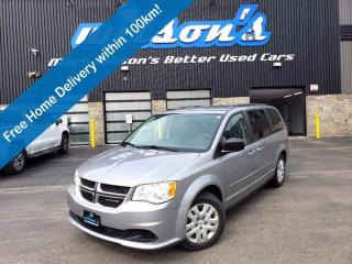 Used 2015 Dodge Grand Caravan SXT, Stow N Go, CD Player, Power Group, and more! for sale in Guelph, ON