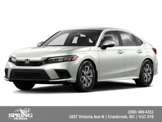 New 2022 Honda Civic LX for sale in Cranbrook, BC