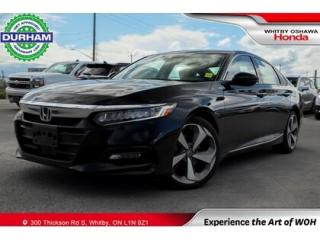 Used 2019 Honda Accord Touring   CVT   Navigation for sale in Whitby, ON