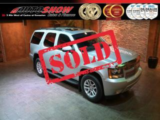 Used 2014 Chevrolet Tahoe 4WD - Heated Wheel & Lthr, S.Roof, Tow Pkg, 8 Pass.!! for sale in Winnipeg, MB