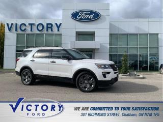 Used 2018 Ford Explorer Sport   4X4   NAV   DUAL SUNROOF   COOLED SEATS for sale in Chatham, ON
