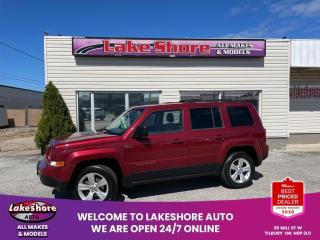 Used 2014 Jeep Patriot Sport/North North LOCAL TRADE for sale in Tilbury, ON