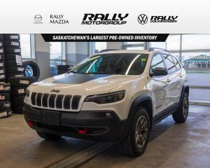 Used 2020 Jeep Cherokee Trailhawk for sale in Prince Albert, SK