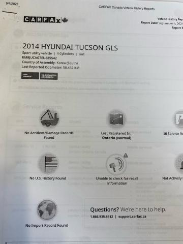 2014 Hyundai Tucson Limited Photo17