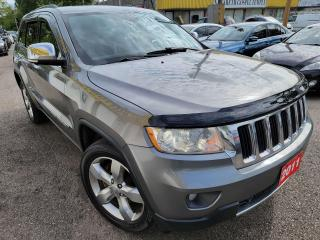 Used 2011 Jeep Grand Cherokee Limited/4WD/NAVI/CAMERA/LEATHER/ROOF/LOADED/ALLOYS for sale in Scarborough, ON