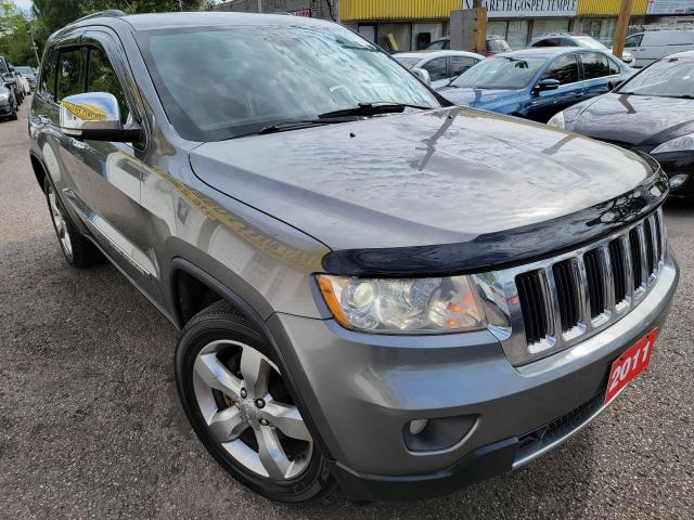 2011 Jeep Grand Cherokee Limited/4WD/NAVI/CAMERA/LEATHER/ROOF/LOADED/ALLOYS