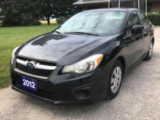 Used 2012 Subaru Impreza 2.0i for sale in Thornton, ON