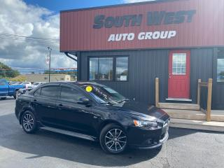 Used 2015 Mitsubishi Lancer GT AWD|Htd Lthr|Sunroof|Bluetooth|Alloys|Spoiler for sale in London, ON