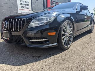 Used 2012 Mercedes-Benz CLS-Class CLS 550, AMG, AWD, BLACK ON BLACK, V8 for sale in Burlington, ON