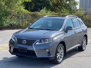 Used 2015 Lexus RX 350 SPORTDESIGN AWD NAVIGATION/BLIND SPOT/CAMERA for sale in North York, ON