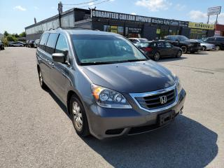 Used 2010 Honda Odyssey EX-L 8 PASS. w/B.CAM/LEATHER&SUNROOF/P.SLIDE.DOORS for sale in North York, ON