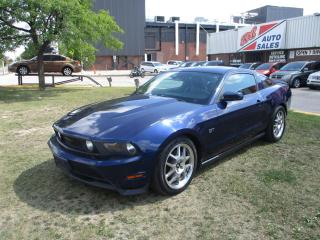 Used 2010 Ford Mustang GT ~ V8 ~ MANUAL ~ SHAKER ~ LEATHER ~ CERTIFIED for sale in Toronto, ON