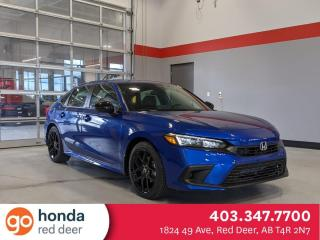New 2022 Honda Civic Sedan Sport for sale in Red Deer, AB