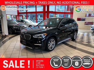 Used 2018 BMW X1 xDrive28i - Local / One Owner / Leather / No Dealer fees for sale in Richmond, BC