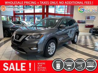 Used 2017 Nissan Rogue SV AWD - No Accident / Local / One Owner / No Dealer Fees for sale in Richmond, BC