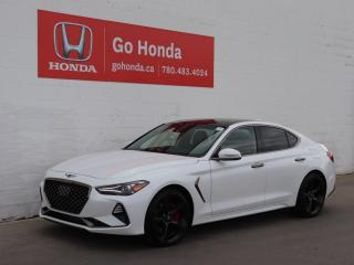 Used 2021 Genesis G70 3.3T SPORT AWD LEATHER ROOF NAV for sale in Edmonton, AB
