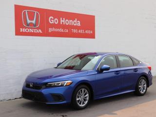 New 2022 Honda Civic Sedan EX for sale in Edmonton, AB