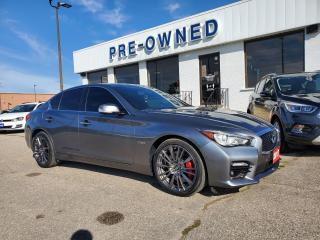 Used 2017 Infiniti Q50 3.0T Red Sport 400 for sale in Brantford, ON