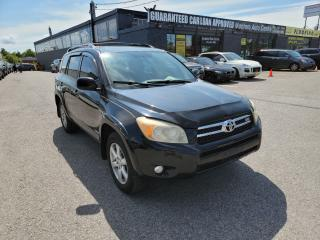 Used 2006 Toyota RAV4 Limited 4WD w/LEATHER/SUNROOF // FULL SERVICE RECS for sale in North York, ON