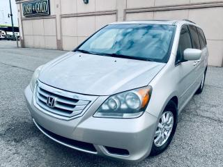 Used 2009 Honda Odyssey EX-L 8 PASSENGER LEATHER DVD CERTIFIED $6499 for sale in Brampton, ON