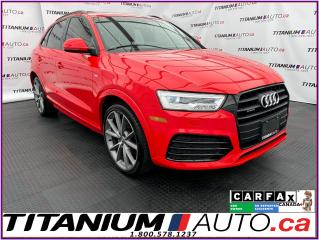 Used 2017 Audi Q3 Technik+Quattro+S-Line+GPS+Camera+Pano Roof+Blind for sale in London, ON