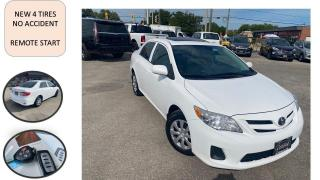Used 2013 Toyota Corolla 4dr Sdn Auto SUNROOF NO ACCIDENT 4 NEW TIRES SAFET for sale in Oakville, ON