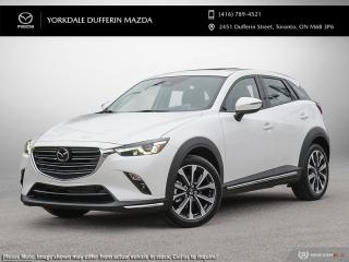 New 2021 Mazda CX-3 GT for sale in York, ON