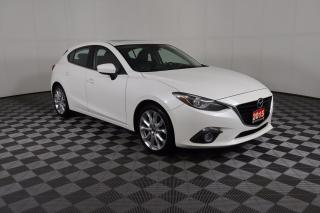 Used 2015 Mazda MAZDA3 GT 1 OWNER - NO ACCIDENTS   NAVI   LEATHER   SUNROOF   HEATED SEATS for sale in Huntsville, ON