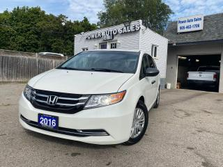 Used 2016 Honda Odyssey 4dr Wgn LX for sale in Brampton, ON