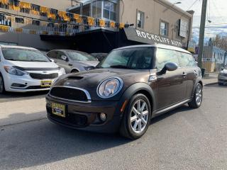 Used 2012 MINI Cooper Clubman 2dr Cpe S for sale in Scarborough, ON