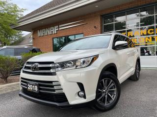 Used 2018 Toyota Highlander AWD XLE Sunroof Rear Cam 7 Passenger Certified* for sale in Concord, ON