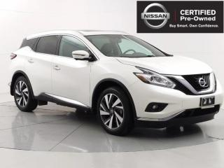 Used 2017 Nissan Murano Platinum AWD, Nav, Heated/ Cooling seats, Leather for sale in Winnipeg, MB