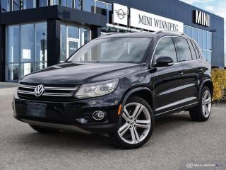 Used 2013 Volkswagen Tiguan Highline Low Mileage! Gorgeous VW Wheels! for sale in Winnipeg, MB