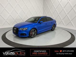 Used 2018 Audi S3 2.0T Technik S3| TECHNIK| QTTRO| NAVI| PANO RF for sale in Vaughan, ON
