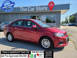 Used 2017 Chevrolet Sonic LT HEAT SEAT Remote Starter, REAR CAM, CLEAN TITLE for sale in Winnipeg, MB