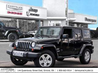 Used 2011 Jeep Wrangler Unlimited SAHARA | 4 DOOR | DUAL TOP | AUTO for sale in Simcoe, ON